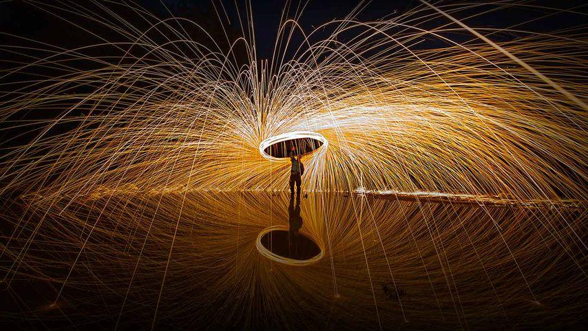 'Spark art' photography