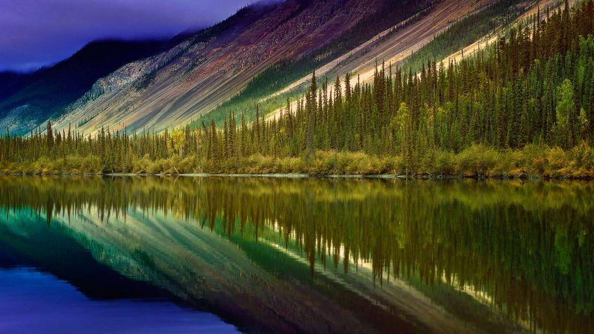 South Nahanni River, Nahanni National Park Reserve, Nordwest-Territorien, Kanada