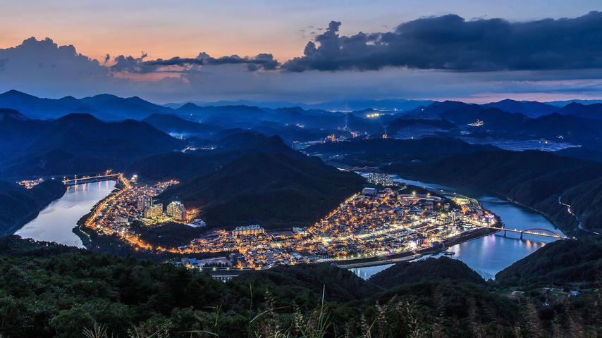 Landkreis Danyang, Provinz Chungcheongbuk-do (Nord-Chungcheong), Südkorea