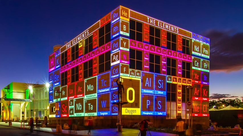 Enlighten Canberra Festival 2012 at Questacon - National Science and Technology Centre, ACT