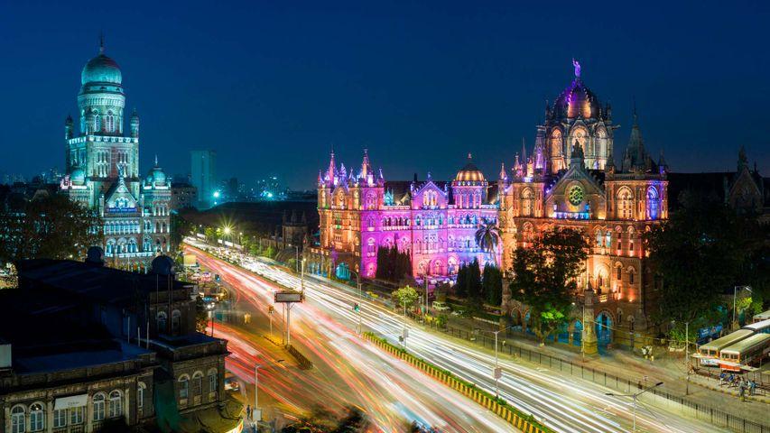 The Chhatrapati Shivaji Maharaj Terminus railway station