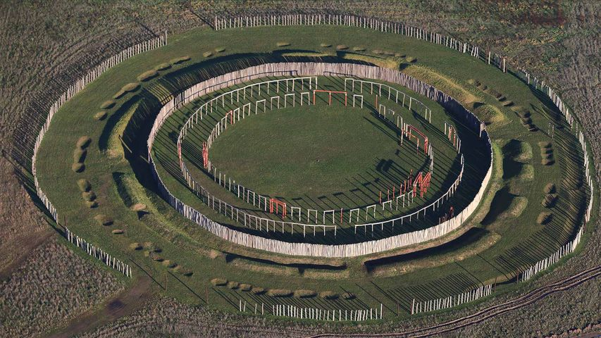 Kreisgrabenanlage von Pömmelte, Barby, Sachsen-Anhalt, Deutschland
