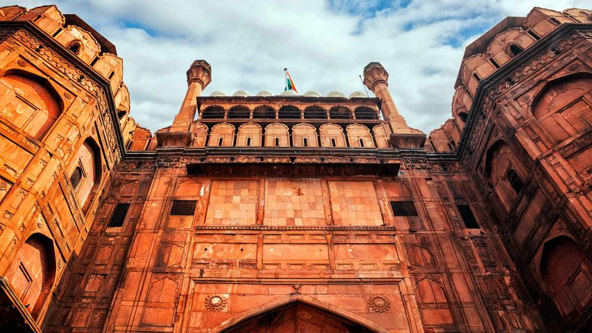 Lahori Gate of the Red Fort, Delhi