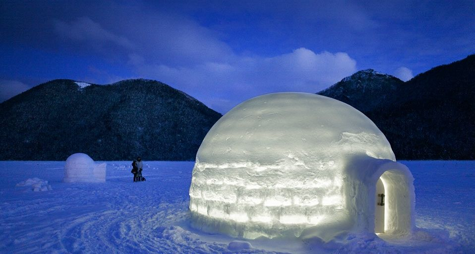「然別湖コタン」北海道, 然別湖