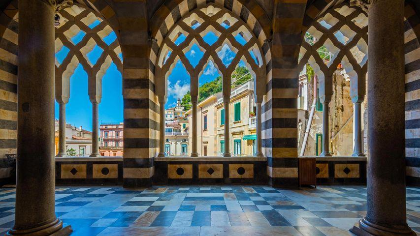 Amalfi Cathedral in Amalfi, Italy