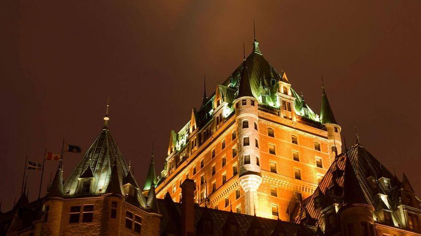 Fairmont le Chateau Frontenac hotel, Quebec City, province of Quebec, Canada