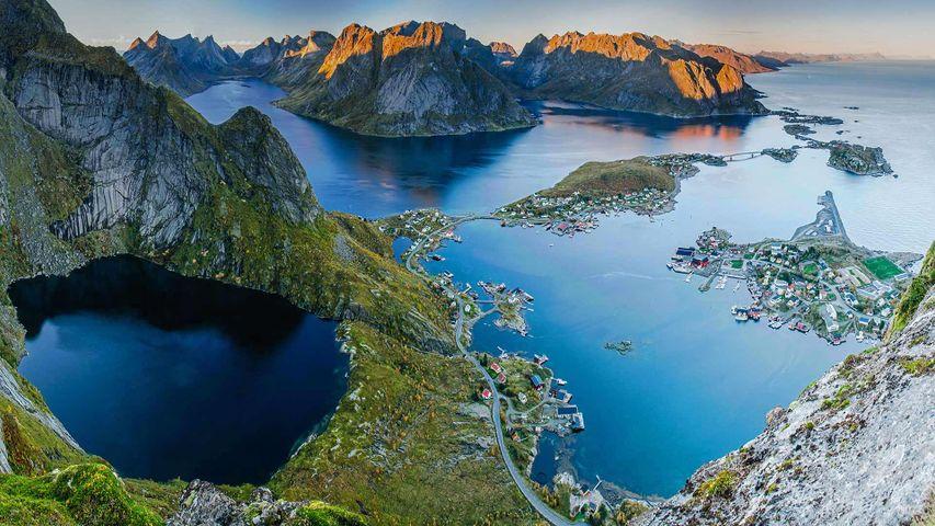 Village of Reine on Moskenesøya, Norway