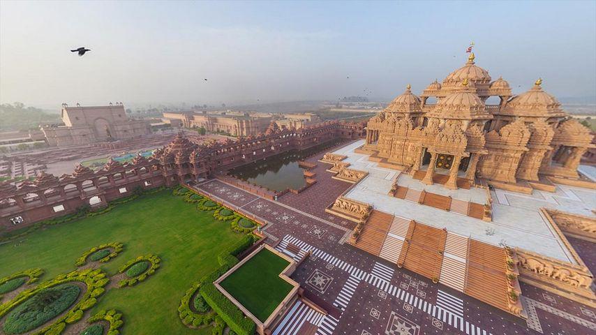 Akshardham-Tempel in Delhi, Indien