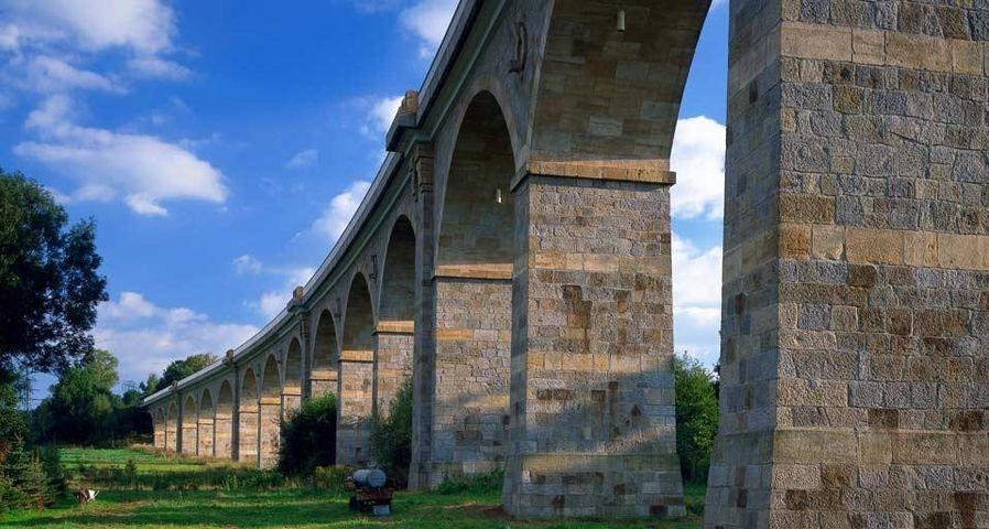 Putzkauer Viadukt nahe Bischofswerda, Lausitz, Sachsen, Deutschland