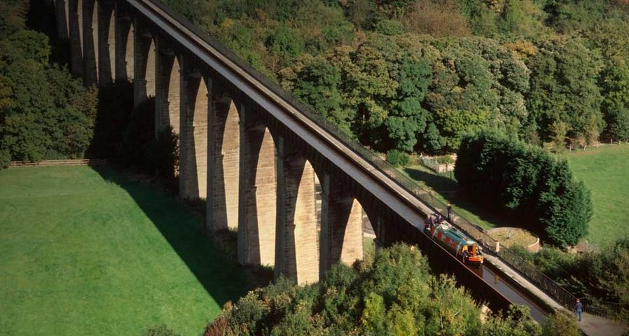 Pontcysyllte Aqueduct, Llangollen, Wales