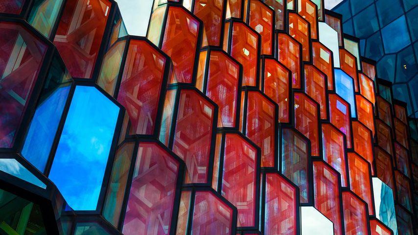 Harpa Concert Hall in Reykjavík, Iceland
