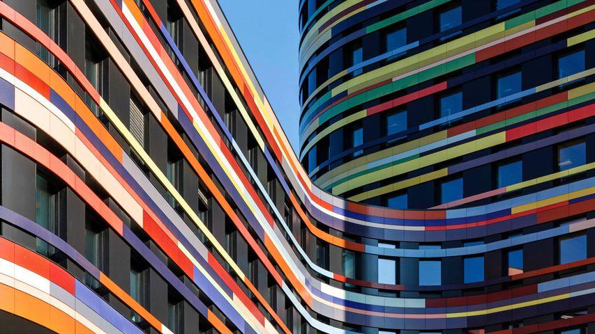 Außenansicht der Behörde für Stadtentwicklung und Umwelt, Hamburg, Deutschland