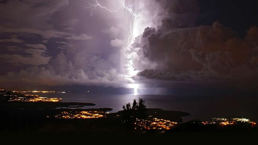Catatumbo lightning over Zulia, Venezuela