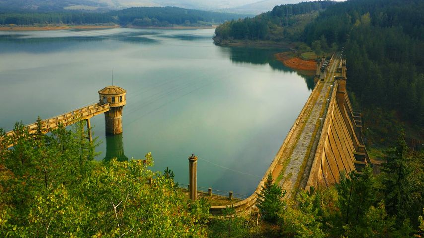 Studena Dam, Struma River, Bulgaria