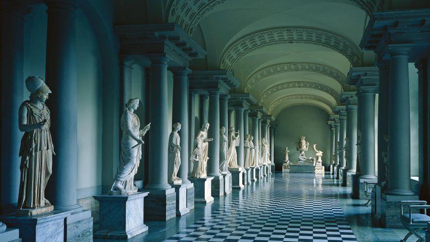 Gustav III´s Museum of Antiquities in Stockholm Palace, Sweden