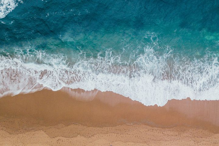 android wallpaper beach foam