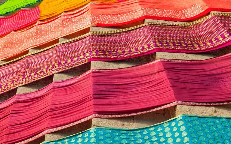 Embroidery Fabrics of India