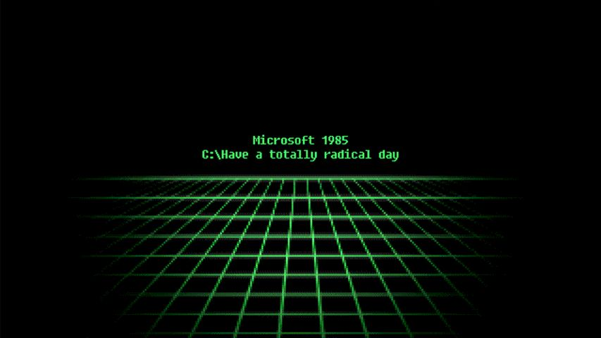 Windows Throwback Theme Take Your PC back to 1985 Times