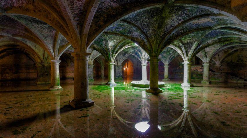 The Portuguese Cistern in El Jadida, Morocco