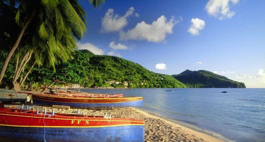 Plage des Anses d'Arlet sur l'île de la Martinique, France