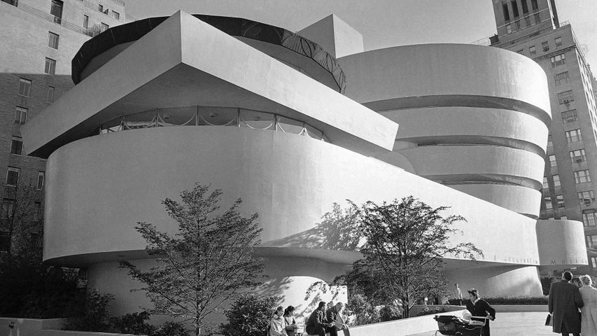 Solomon R. Guggenheim Museum in New York City, 1959