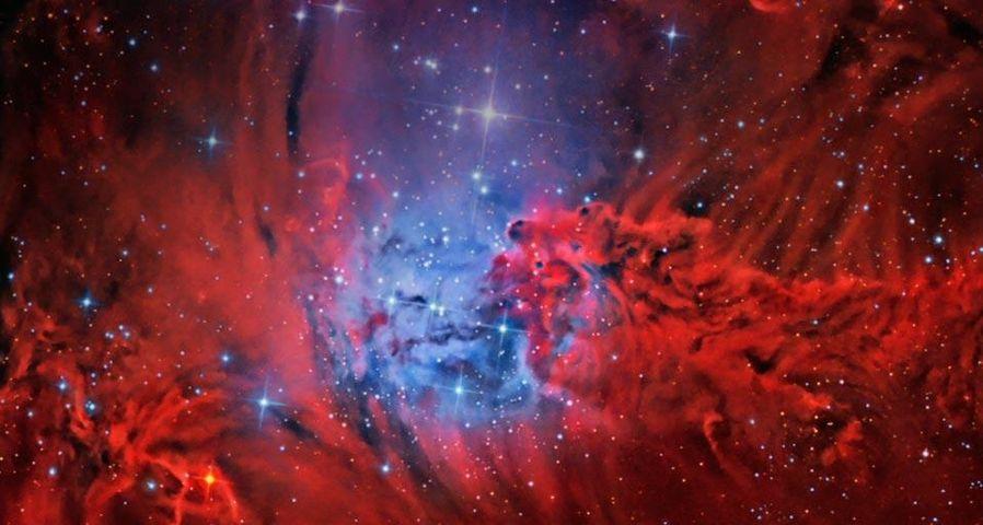麒麟座的狐狸皮星云