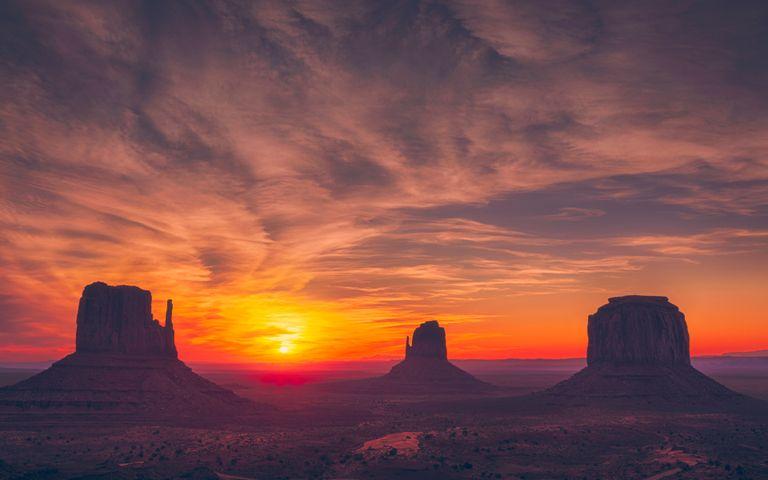 outdoor sunset sky setting sun nature clouds orange