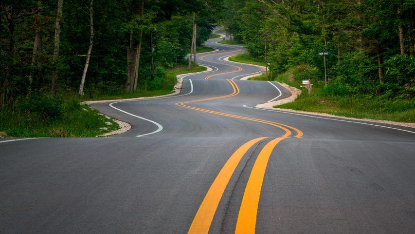 多尔县沿海公路,美国威斯康星州