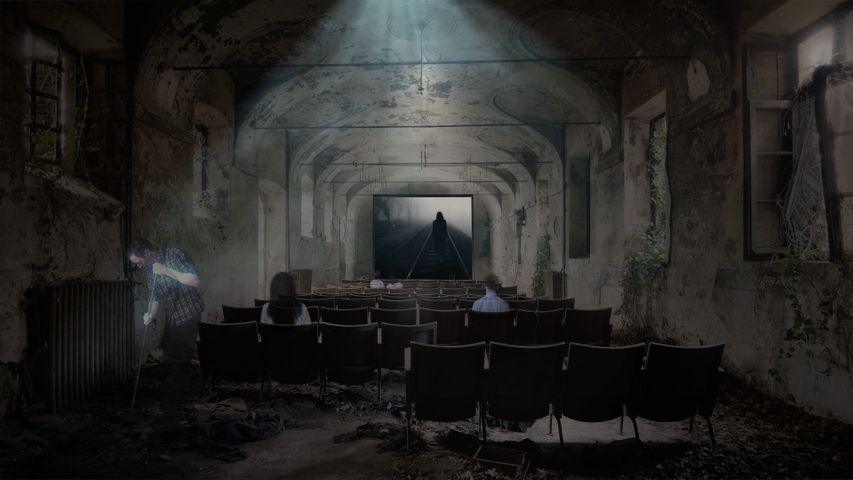 Kinosaal der verlorenen Seelen