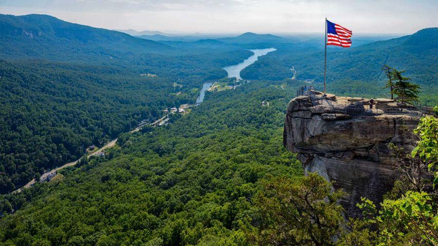 Chimney Rock State Park in North Carolina