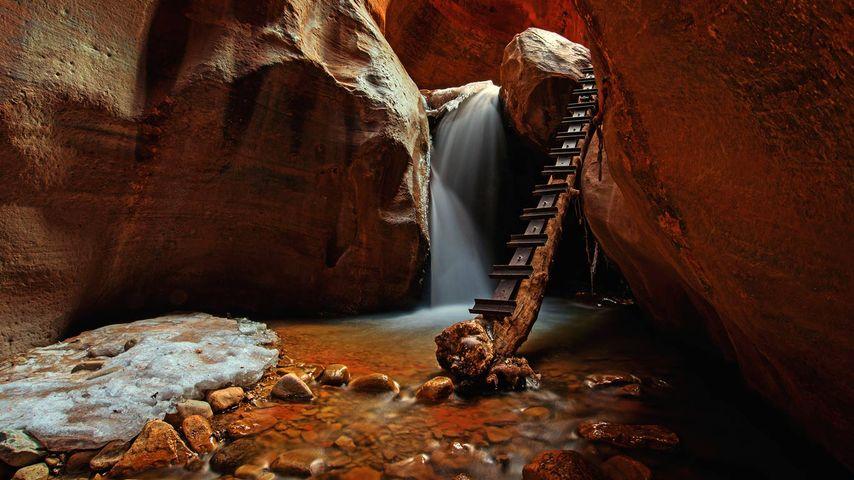 Kanarra Creek Falls, Utah, USA