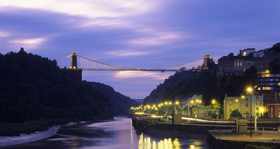 Clifton Suspension Bridge, Avon, Bristol, England