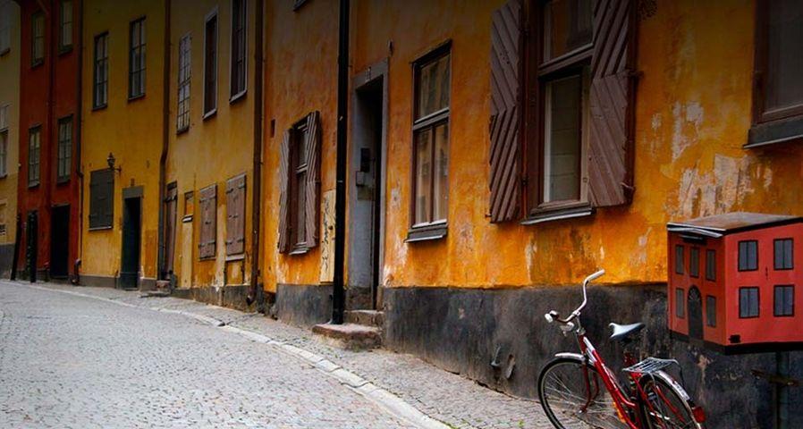 无处不浪漫:如邻家女孩般亲切的瑞典老城