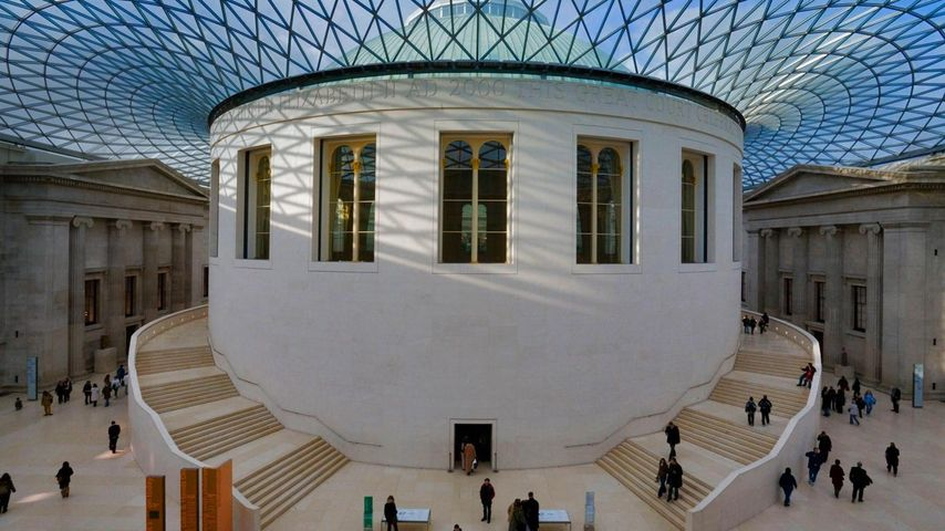 The Reading Room at the British Museum's Great Court in London