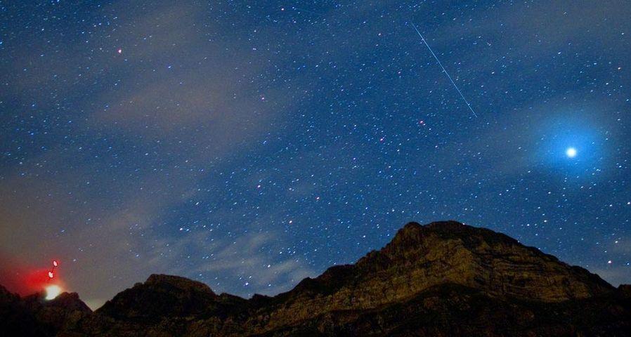 划过夜空的流星
