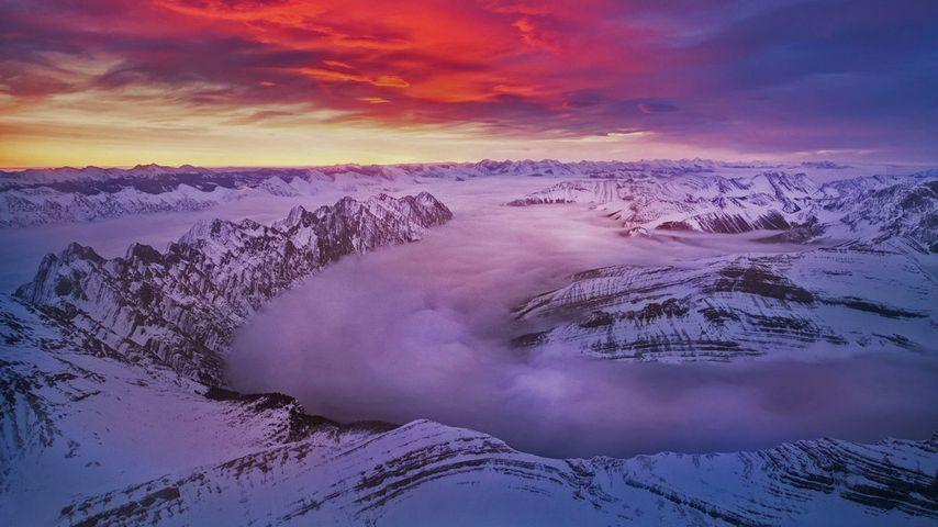 The Alberta Rockies in Kananaskis Country, Canada