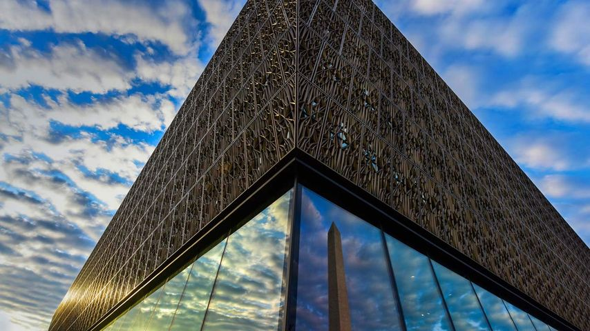 The Smithsonian Institution's National Museum of African American History and Culture in Washington, DC