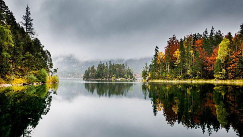 「アイプゼー湖」ドイツ, バイエルン州