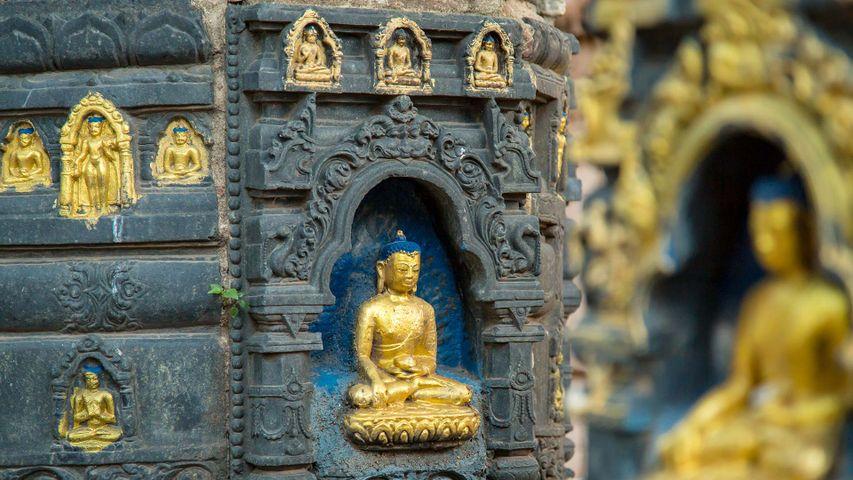 Bodhi Gaya - site of Buddhist pilgrimage