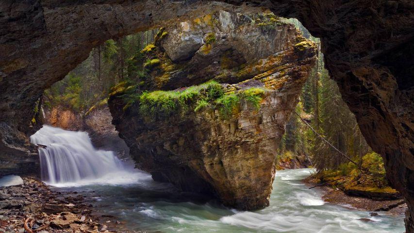 「ジョンストン渓谷」カナダ, アルバータ州