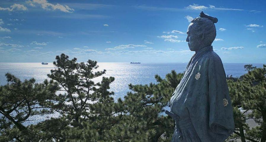 「坂本龍馬の像」高知, 桂浜