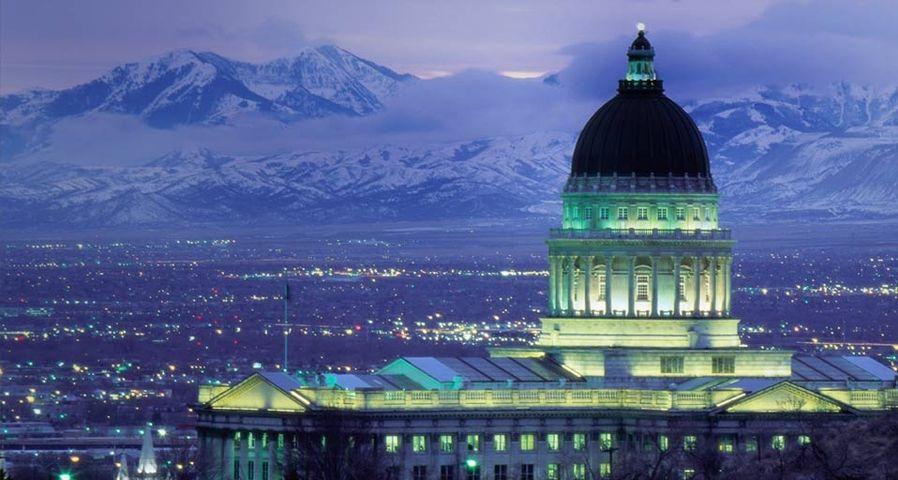 美国犹他州议会大厦