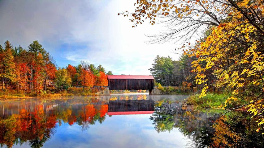 County Bridge in New Hampshire