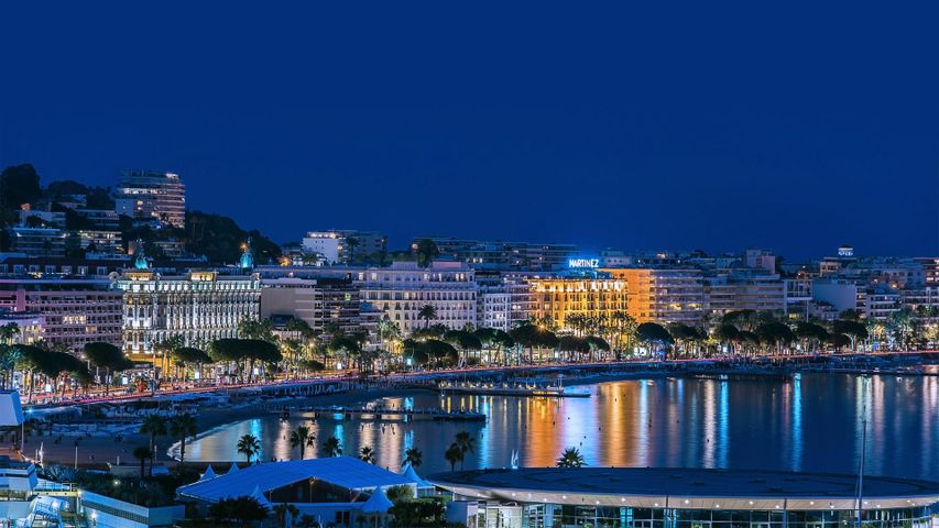 Cannes, France, where the annual film festival begins today