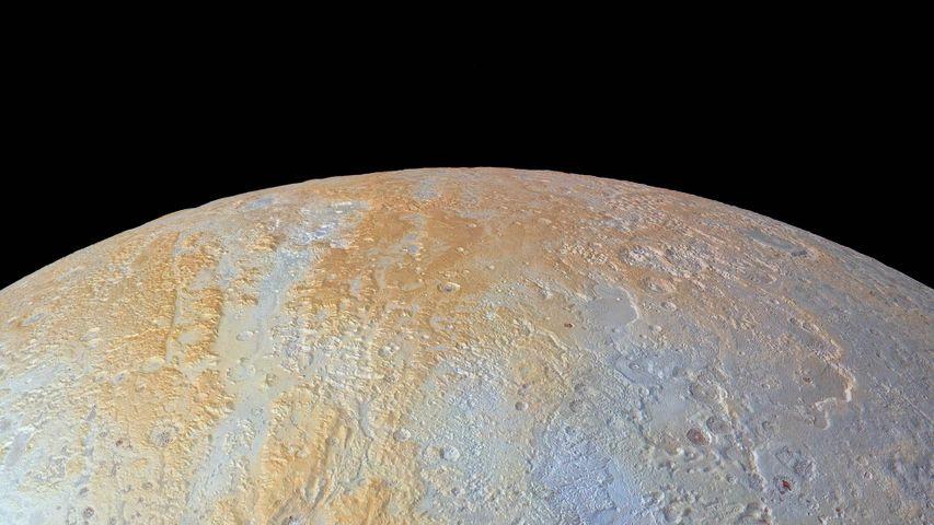 Nordpol des Zwergplaneten Pluto