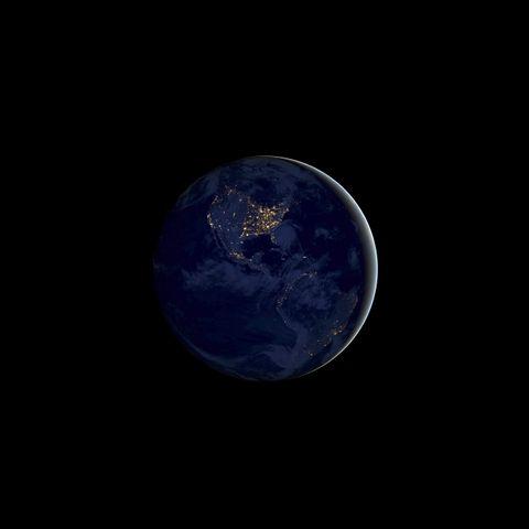 dark night sky moon full moon