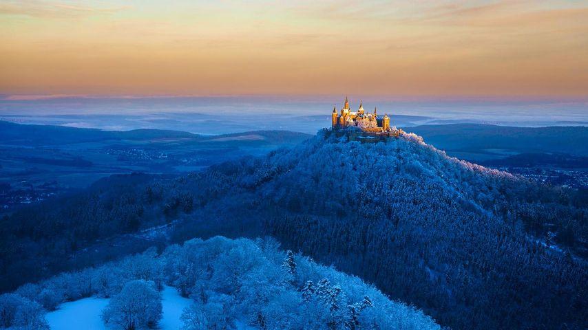 Hohenzollern Castle near Stuttgart, Germany