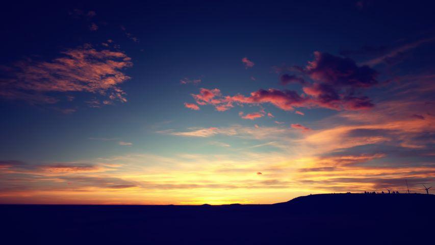 outdoor sky cloud sunset landscape nature sun sunrise