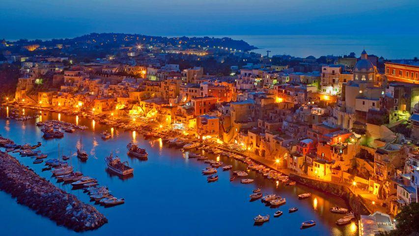 Ile de Procida, Naples, Italie