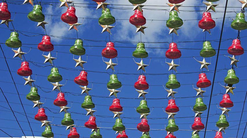 Christmas decorations in Melbourne, Australia
